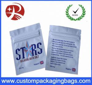 Best Custom Design Packaging Plastic Ziplock Bags Herbal Incense Pouch wholesale