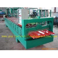 Best High Speed Glazed Tile Cold Roll Forming Machine 0 - 20 m/min Red Roofing Panel or Customized wholesale