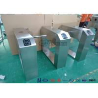 Cheap Pedestrian Turnstile Gate With ID/IC Reader Access Control Time Attendence for sale