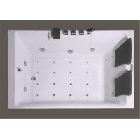 Best Square Freestanding Whirlpool Bathtubs , Whirlpool Jet Tubs For Small Bathrooms wholesale