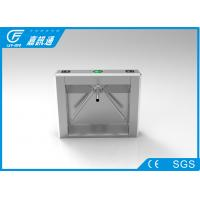 Best Security Mechanical Vertical Tripod Turnstile High Speed With Fingerprint Reader wholesale