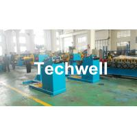 Best Rotary Double Head Mandrel Manual Uncoiler / Decoiler With Weight Capacity Of 3 / 5 Ton wholesale
