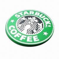 Best PVC coaster, customized colors and logos are accepted wholesale