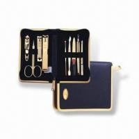 Best Manicure Set with Butterfly Zipper Pocket, Made of Stainless Steel, OEM Orders are Welcome wholesale
