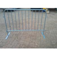 Best Round Tube Crowd Safety Barriers / Crowd Control Fencing For New Zealand wholesale