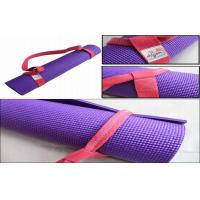 China 12cm Durable Colourful 6 Feet Yoga Mat Strap For Exercise Equipment on sale