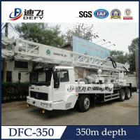 Best 350m Truck Mounted well drilling machine,DFC-350 Hydraulic Drilling Rig with Mud Pump wholesale