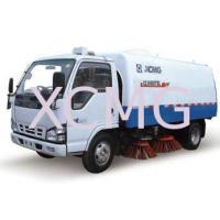 Best Special Purpose Vehicles Street Sweeper Trucks For Stadium , Dock And School wholesale