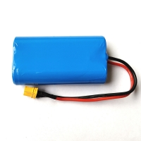 Best 7.4V 2000mAh 18650 Lithium Rechargeable Battery For Massager wholesale