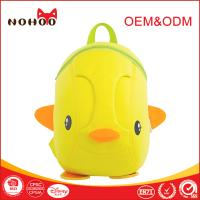 Best School Duck Shape Waterproof Personalized Toddler Backpacks For Camping Hiking wholesale
