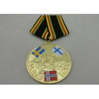 Best ERLING LOPEZ Die Stamping Copper / Zinc Alloy / Pewter Custom Awards Medals for Sport Meeting wholesale
