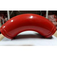 Quality Back Fat Elbow Casting Manganese Concrete Pump Pipe Elbow DN125*R275*90D wholesale