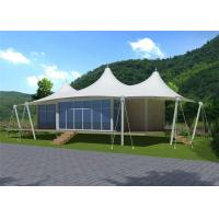 Best Stretched Cable Membrane Structure Villa Tent / Prefab Houses Sandwich Panel Wall wholesale