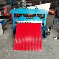 Best Colour Steel Roof Sheet Roll Forming Machine CNC Control CE Certified wholesale