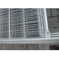 Buy cheap Construction Site Fencing Temp Fence Panels Hot Dipped Galvanized Pipe from wholesalers