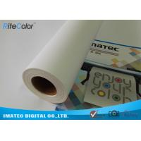 Best Large Format 380gsm Inkjet Print Matte Cotton Canvas Roll for Eco Solvent Ink wholesale
