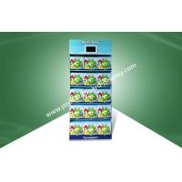 China Five Shelf Pop Cardboard Display Stands Angry Birds Toys Fixed With Tv Player on sale