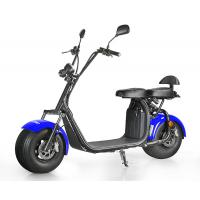 Best LCD screen 1000W Power 2 Wheel Electric Scooter with CE mark mirror , 50KM Max Speed wholesale