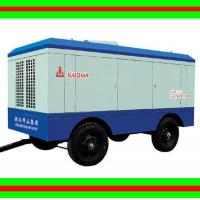 Best High efficient mining mobile air compressor diesel driven 140L 95 HP 55Kw wholesale