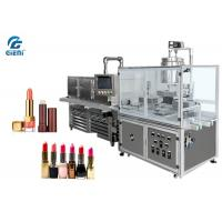 Best 10 Nozzles Semi Automatic Lipbalm Filling Machine For Pearl Powder Materials, with Chilling Tunnel wholesale