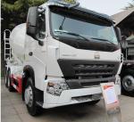 Best 8cbm Cement Mixing Trucks , Concrete Mixing Transport Truck 336 HP wholesale