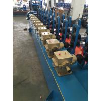 Best Blue color Low Carbon Steel Round / Square / Rectangular Tube Mill Line I.D Φ450-Φ550mm wholesale