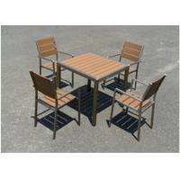 Best High Recyclable Wood Plastic Furniture Humid Stability For Restaurant wholesale