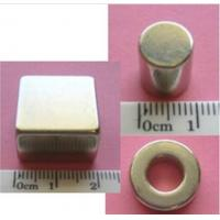 Buy cheap Permanent magnets neodymium disc/block/ring or OEM with Zn/Ni/NiCuNi/Epoxy etc. from wholesalers