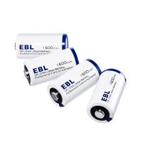 Buy cheap EBL 4 Pack CR123A 3V Lithium Primary Cell Battery 1600mah Eco Friendly from wholesalers