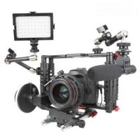 Best DSLR Camera Cage with Standard 15mm Rod is work with Canon 5D Mark II, 7D  wholesale