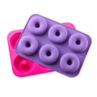 Buy cheap Silicone Donut Baking Pan, Non-Stick Donut Mold, Dishwasher, Oven, Microwave, from wholesalers