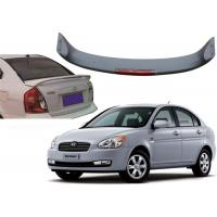 Best Auto Sculpt Roof Spoiler with LED light for Hyundai Accent Verna 2000 and 2007 wholesale
