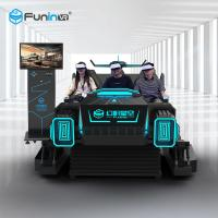 Best 9D Virtual Reality Simulators Cinema Movie Virtual Reality Interactive Car Games For Kids Ride wholesale