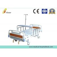 Best ABS Head 2 Crank Clinical Best Bed Medical Hospital Beds I.VPole (ALS-M234) wholesale