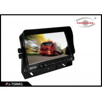Best High Brightness Bus Rear View Camera With 7 Inch Digital Quad Screen Monitor wholesale