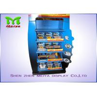Best Innovative Design OEM Customized 5-tiers Shelves Cardboard Display Stands for  Battery / Charger wholesale