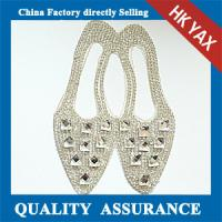 Best Crystal Fox patch for clothing ; high quality rhinestone patch for clothing wholesale