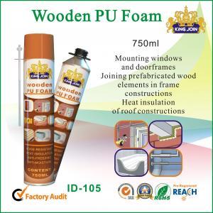 Best Stable Waterproof Wooden PU Foam Sealant Convenient Installing For Door Frame wholesale