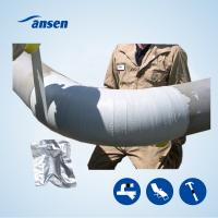 Buy cheap Underground Black Fiber Glass Pipe Repair WrHigh Quality Industry Emergency Pipeline Repair Armored Cast Fiber Wrap Tape from wholesalers