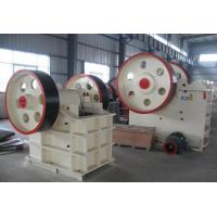 Best 250Kw Jaw Crusher Machine , JC Series Highly Abrasive Stone Crusher Machine wholesale