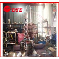 Best 100L Home Distilling Equipment , Copper Moonshine Still For Alcohol Making wholesale