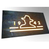 Best Custom Resin Illuminated Wooden Signs Wall Mounted Decoration Bar Sign Used wholesale