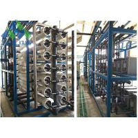 Best Island Use Middle / Large Scale Marine Reverse Osmosis Water Maker For Fresh Water wholesale