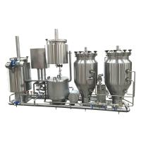 100L Stainless Steel Home Microbrewery Equipment For Wort Processing