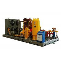China Quick efficiency Air Cooled CNG  Compressor manufacturer for CNG Gas Filling Station on sale