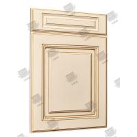 Multi Color Solid Core Molded Doors , Melamine Engineered Wood Doors