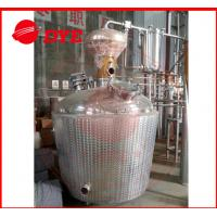 Best Custom Craft Copper Distillation Column For 90% Alcohol Concentration wholesale