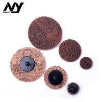Best 2 Inch Quick Change Abrasive Discs Metal Polishing TS TR Type Support  Flax Nylon wholesale