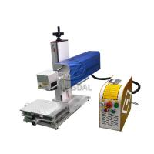 Best Mini Glasses Lens Marking Machine Co2 RF Laser Marking Machine 30W wholesale