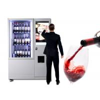 China Luxury Elevator Wine Vending Machine With Large Advertising Screen Remote Control System on sale